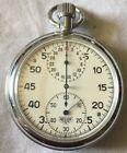 Scarce Vintage  Heuer Stopwatch - 3 Dial - Works & Functions Great - (a)