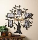 FAMILY TREE FRAME HOLDS FIVE 4 X 6 PHOTO WALL ART DECOR 10015960