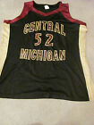 Central Michigan Chippewas CMU Womens Basketball Jersey Game Used 52 XL