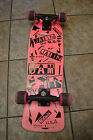 Vintage Nash Hot Pink Jamin' deck the USA Skateboard 1980's 1986 RARE