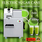 Electric Sugar Cane Juicer 20RPM Squeezer Press Juice Tray 1HP/750W 660lbs/H