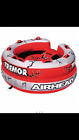 AIRHEAD AHTM 4 Tremor Inflatable 1 4 Person Towable Lake Water Tube Quad Rider