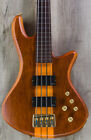 Schecter Guitar Research Stiletto 4-String Fretless Electric Bass - Honey Satin
