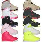 Boys Girls Kids Fila Vulc 13 Mashup Brights Neon Mid Sneakers Shoes 105 7 PS GS