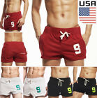 Mens sport shorts running casual pants GYM racing short Athletic Trunks Casual