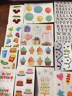 Lot Of 60 Mixed Sizes Mrs Grossmans Stickers Z1