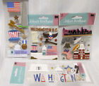 WASHINGTON DC PHILADLPHIA TRAVEL Scrapbook Stickers FOUR Packages