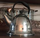 Michael Graves Tea Kettle Teapot Brass Bell And Whistle