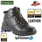 Steel Toe WATERPROOF Insulated Oil  Slip Resistant Rubber Work Boots ASTM CF