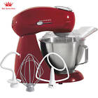 Hamilton Beach Eclectrics 4.5-Quart Stand Mixer Sugar Metal Red Cakes kitchen