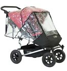Mountain Buggy Duet DOUBLE Storm Cover Baby Stroller Weather Shields, New