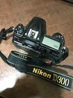 Nikon D D300 123MP Digital SLR Camera Black Body Only