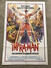 Shaw Bros INFRAMAN CULT FILM 27 x 41 VINTAGE One Sheet Poster Horror Brothers