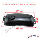 Gas Fuel Tank With Cap  Fuel Petcock For Chinese 150cc 250cc Go Kart Dune Buggy