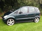 LARGER PHOTOS: Mercedes A140 Classic/ 51 reg /AMG wheels/Used daily/2 wks MOT/Spares or repairs
