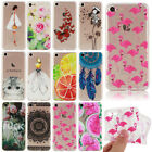 For iPhone 5s 6s 7 Plus Cute Patterned Shockproof Soft TPU Silicone Case Cover