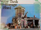 1997 SIERRA WEST SCALE MODELS - WATER TANK & STORAGE SHED KIT#202 1:87 SCALE  HO