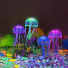 4PCS Aquarium Jellyfish Decoration Glowing Effect Fish Tank Artificial Ornament