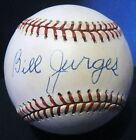 Bill Billy Jurges D.89 PSA DNA Autographed Baseball Chicago Cubs New York Giants