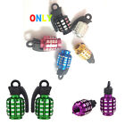 Grenade Motorcycle Car Tire Tyre Wheel Valve Air Stems Cap Cover Dust Universal