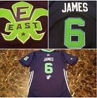 EUC Sewn Authentic 2014 All Star LeBron James Jersey youth boys kids large blue