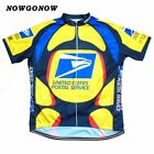 USPS US Postal Service Cycling Jersey Shirt Retro Bike Ropa Ciclismo MTB Maillot