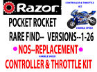 Razor PR200 POCKET ROCKET V1 26 SPEED CONTROLLER KIT COMPLETE OBSOLETE