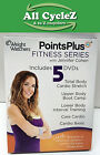 Weight Watchers Points Plus Fitness Series 5 DVD set in Mint Condition