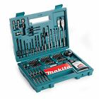 Makita B-53811 Drill And Screwdriver Bit Accessory Set 100 piece With Carry Case