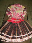 New Girls Save The Queen Couture Pageant Casual Wear 3pc Set Size 6