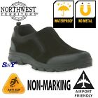 Mens WATERPROOF SUEDE Work Casual Shoes Boots Loafer Slip on Slip Resistant nt
