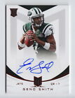 Geno Smith Signs Football Card and Autograph Deal with Panini America 4