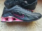 Nike Shox Turbo Womens size 7 or Youth 55Y Black Pink Metallic Unique