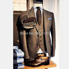 3 Pieces Men Suits Slim Fit Groom Tuxedos Formal Wedding Suits Custom Made