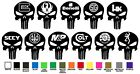 Gun Manufacturer Punisher Skull Body Decal Bumper Sticker 3 sizes 10 Designs NRA