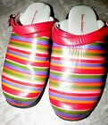 GUC Hannah Andersson Shoes 36 rainbow stripe youth 55 6 Girls