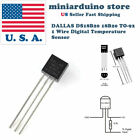 5pcs DALLAS DS18B20 18B20 TO 92 1 Wire Digital Temperature Sensor