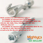 12 Dr 119mml Fuel Injection Line Flare Nut Open Socket Wrench Option141719