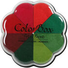 Clearsnap ColorBox Pigment Petal Point Ink Pad 8 Colors Poinsettia