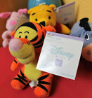 Disney Baby Winnie the Pooh Play Pals TIGGER Doll Rattle Shower Gift Present NEW