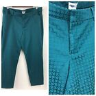 Old Navy Rare Teal Patterned Pixie Ankle Pants Size 16 Womens