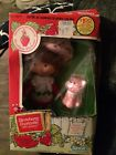 Vintage 1982 Strawberry Shortcake Doll With Pet Cat Comb Thank You Card NIB
