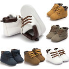 Newborn Baby Boy Girls Soft Sole Crib Shoes Warm Boots Anti slip Sneakers 0 18M