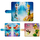 Tinker Bell Flip Wallet Phone Case For Iphone 5 6 7 8 plus  S8+ Note 8 5 S7 6 5