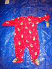 CARTERS Infant Boy Plush RED MONKEY Christmas Sleeper Santa Claus Sleep Play