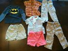 Lot of 8 Baby boys clothes size 2T
