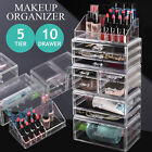 Extra Large Clear Acrylic Cosmetic Makeup Organizer Jewelry Storage Case