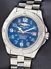Breitling SuperOcean A17360 SS Blue Dial 42mm  Box & Papers
