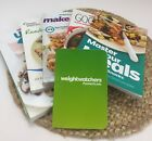 Weight Watchers Cook Book Starter Kit Point Tracker Lot of 5 with Pocket Guide
