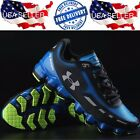 New WITH TAGS UA Under Armour Scorpio Size 10 Mens Shoe Rare Blue